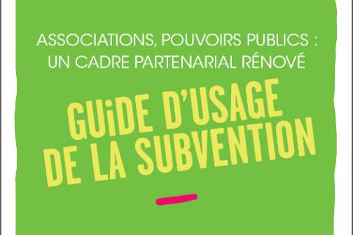 Guide Subvention 2016